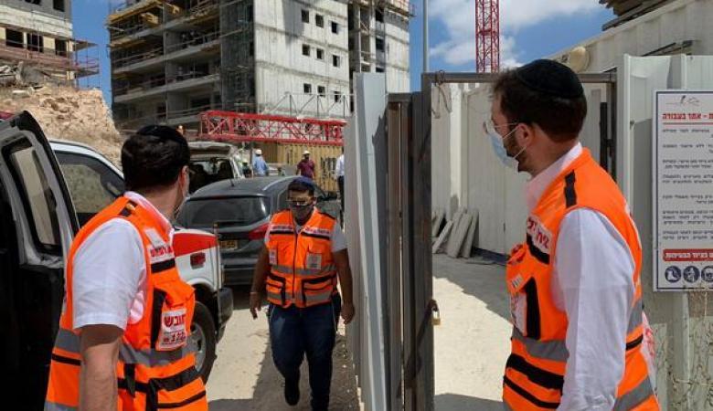 """وفاة عامل فلسطيني في حادث عمل بالقدس  """"صورة """""""