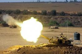 المدفعية الاسرائيلية تدمر موقعاً لحماس جنوب قطاع غزة