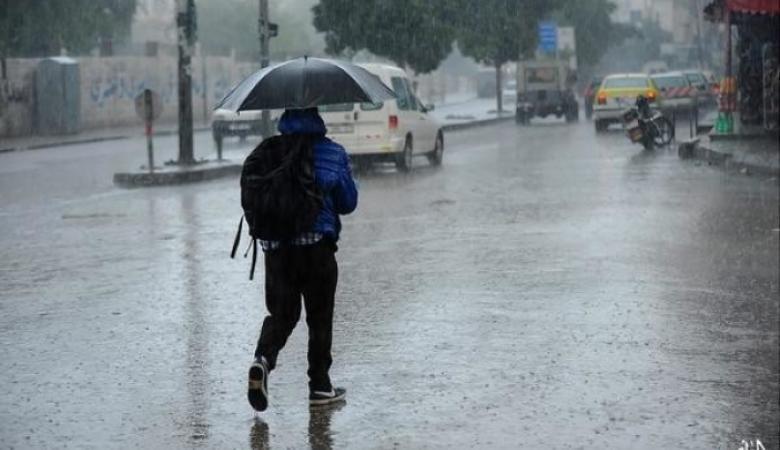 الطقس: أمطار وانخفاض على درجات الحرارة من مساء اليوم حتى الإثنين