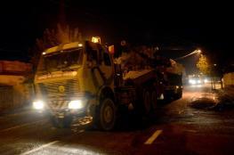 الجيش التركي يرسل تعزيزات عسكرية إلى المناطق الحدودية مع سوريا