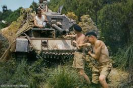 صور ملونة نادرة للحرب العالمية الثانية