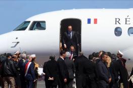 اولاند يصل الاردن في زيارة رسمية