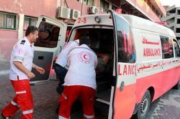 إصابة مواطنيْن بانفجار عرضي بدير البلح