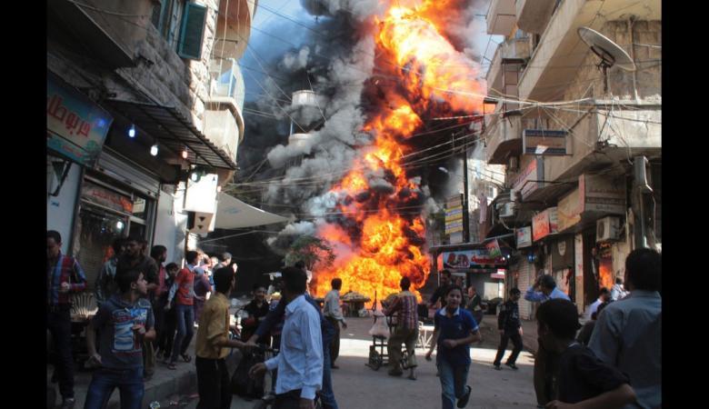 مقتل 23 من عناصر جيش الإسلام خلال اجتماع في معسكر قرب الحدود الأردنية