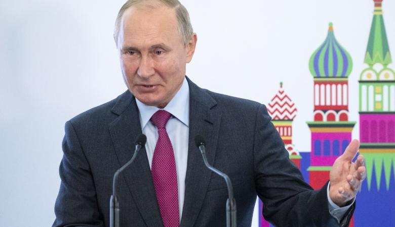 """بوتين يتغزل """"باسرائيل """": دولة متحدثة بالروسية """""""