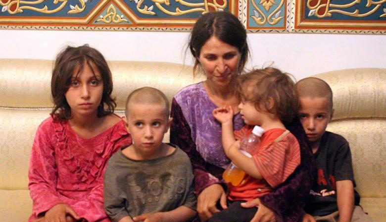 """الجيش السوري يتمكن من تحرير نساء وأطفال السويداء المختطفين عند """"داعش"""""""