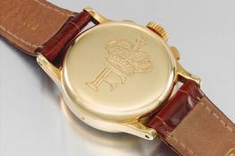 مزاد في دبي على ساعة ذهبية للملك فاروق..  هذا سعرها المتوقع