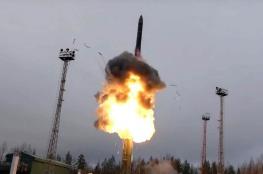 روسيا تنشر صواريخ نووية أسرع من الصوت