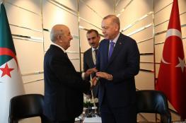 الجزائر متفاجئة من تصريحات الرئيس التركي اردوغان