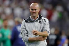 زيدان يعلق على انباء رحيله عن ريال مدريد