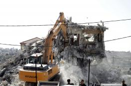 قرار اسرائيلي بهدم مئات المنازل الفلسطينية في القدس