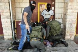الاحتلال يعتقل 11 مواطناً مقدسياً فجر اليوم