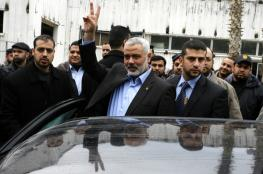 حماس: زيارة هنية تسير وفق المخطط ولا توتر بالعلاقة مع مصر
