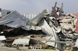 بيت ساحور : الاحتلال هدم مسلخا بحجة عدم الترخيص