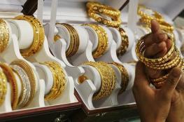 هبوط على سعر الذهب