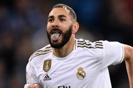 """بنزيمة : """"انا لست أسطورة ريال مدريد """""""