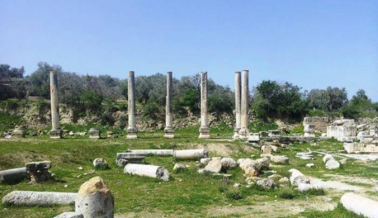 مئات المستوطنين يقتحمون الموقع الأثري في سبسطية