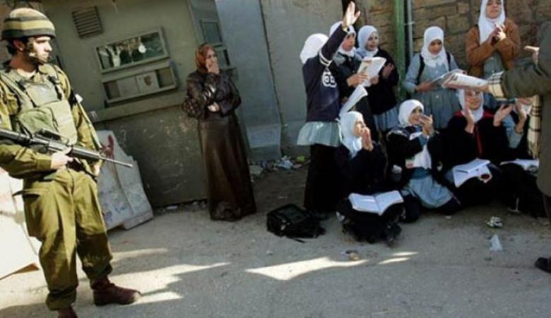 الاحتلال يحتجز طلبة مدارس داخل الموقع الأثري في سبسطية