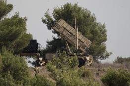 """اسرائيل تفشل في اسقاط طائرة صغيرة قرب الجولان  بصواريخ """" باتريوت """" ثلاث مرات"""