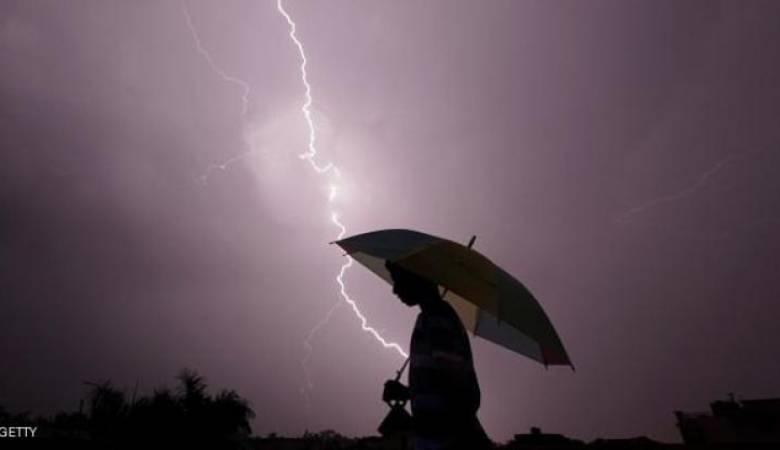 الطقس: انخفاض على الحرارة اليوم وأمطار مصحوبة بعواصف رعدية غدا