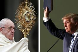 بابا الفاتيكان عن جدار ترامب: الخوف من المهاجرين يدفعنا للجنون