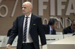 """رئيس """"فيفا"""" واثق من استضافة قطر لمونديال 2022"""