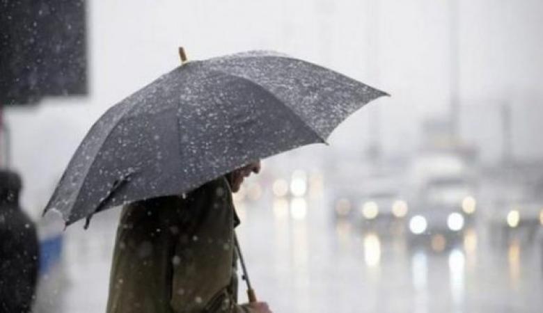 الطقس: استمرار المنخفض الجوي وسقوط الأمطار