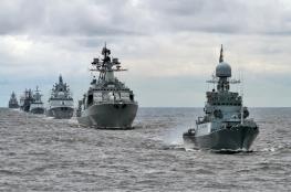 روسيا ترسل أربع سفن حربية جديدة لسوريا  بشكل مفاجئ