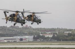 مروحيات تركية امريكية تجوب سماء سوريا للمرة الخامسة