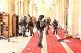 الاوقاف تندد بالاعتداء الاسرائيلي على المسجد الأقصى