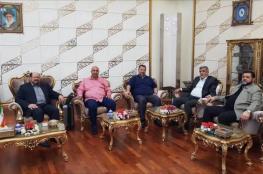 وفد من حماس يصل طهران بقيادة صالح العاروري