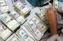 الدولار  الى اعلى سعر له مقابل الشيقل منذ 3 أسابيع