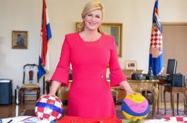 الرجوب لرئيسة كرواتيا : انت النجمة في هذا الحدث الرياضي