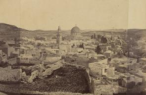 صور نادرة لمدينة القدس تعود للعام 1860