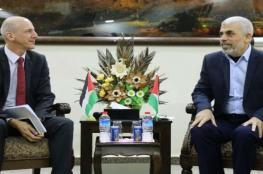 بعد لقائه مع السنوار ..اسرائيل تمنع الحكومة السويسرية من دخول غزة