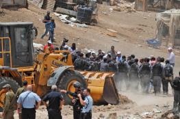 الاتحاد الاوروبي : هدم اسرائيل للخان الاحمر يهدد عملية السلام