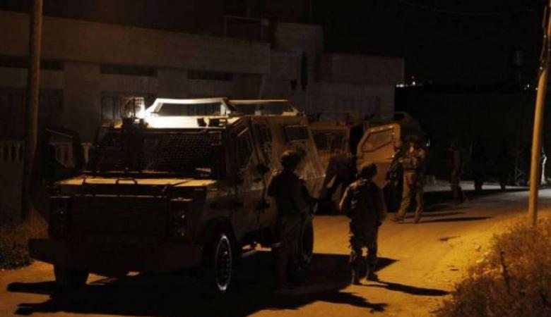 الاحتلال يقتحم جنين ويشن حملة اعتقالات ومداهمات
