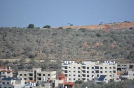 سلفيت: الاحتلال يجرف 50 دونما لتوسعة مستوطنة