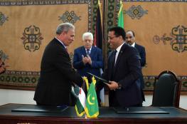 فلسطين توقع 3 اتفاقيات تعاون مع موريتانيا