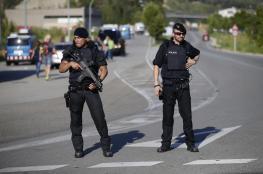 """هتاف """"الله أكبر"""" كان سبباً لإطلاق الشرطة الاسبانية النار على شاب فرنسي"""