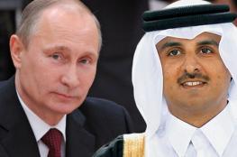 بمبادرة من قطر.. اتصال هاتفي بين تميم وبوتين