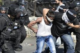 الاحتلال يعتقل تسعة مواطنين في القدس