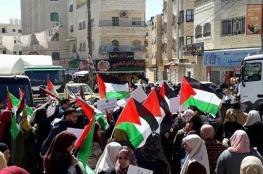 إصابات في قمع الاحتلال مسيرة لمناسبة يوم المرأة قرب حاجز قلنديا