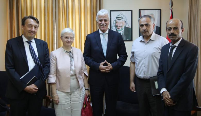 بلجيكا تؤكد على مواصلة دعم التعليم في فلسطين