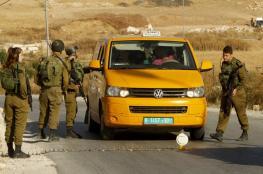 الاحتلال يغلق طرق مؤدية الى رام الله