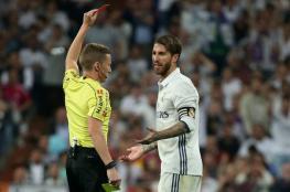 "مدريد يستأنف ضد قرار طرد قائده ""راموس "" امام برشلونة"