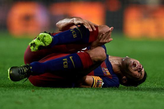 بوسكيتس يغيب  عن برشلونة بداعي الاصابة