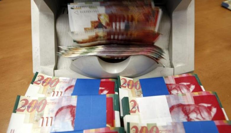 الشيكل يرتفع لأعلى سعر له منذ خمسة أشهر مقابل الدولار