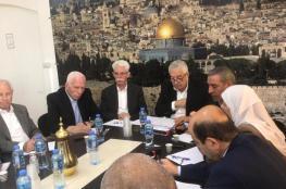 """قيادة حركة فتح تجتمع برام الله لمناقشة ملفات الانتخابات وذكرى وفاة الراحل """"ابو عمار """""""