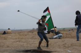 17 اصابة في مواجهات مع الاحتلال خلال مسيرات العودة بغزة